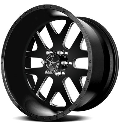 2004-2020 F150 American Force 22x11 Baus SS6 Wheel - Textured Black Solid