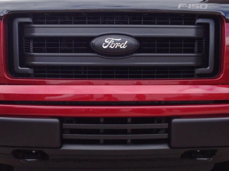 2011 F150 Grill >> 2013-2014 F150 FX4 Boost Bars Lower Two-Bar Grille 1314FX4