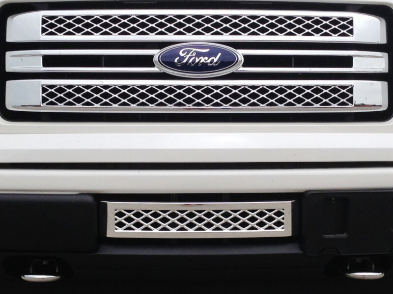 2013 2014 F150 Boost Bars Limited Lower Plate Grille 13limited