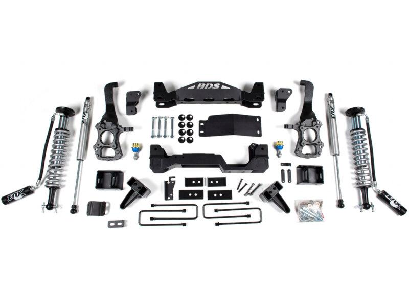 Fox Suspension Lift Kits >> 2017 2019 F150 4wd Bds 6 Fox Coilover Suspension Lift Kit 1532f