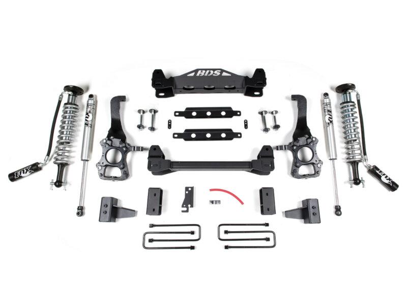 Fox Suspension Lift Kits >> 2015 2017 F150 Rwd Bds 4 Fox Coilover Suspension Lift Kit 1523f