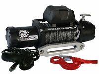 Bulldog Winch 8000lb Standard Winch w/ Synthetic Rope