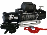 Bulldog Winch 12000lb Standard Winch w/ Synthetic Rope
