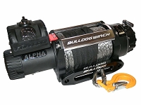 Bulldog Winch 15000lb Alpha Truck Winch w/ Synthetic Rope