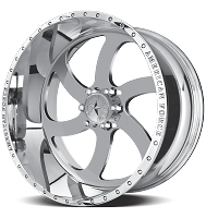 2004-2018 F150 American Force 22x14 Blade SS6 Wheel - Polished