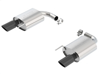 2015-2017 Mustang GT 5.0L Borla ATAK Axle-Back Exhaust Kit (Black Chrome)