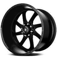 1999-2018 F250 & F350 American Force 20x9 Burnout SS8 Wheel - Flat Black