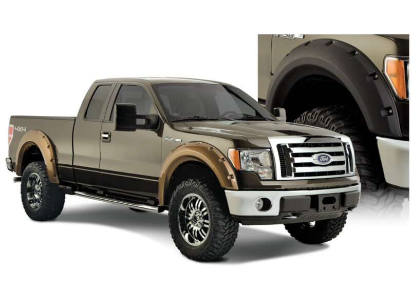 09-14 F150 Bushwacker Large Pocket-Style Fender Flares