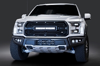 2017-2019 Raptor Caliber9 Upper Light Bar Grille with OnX6 Light Bar