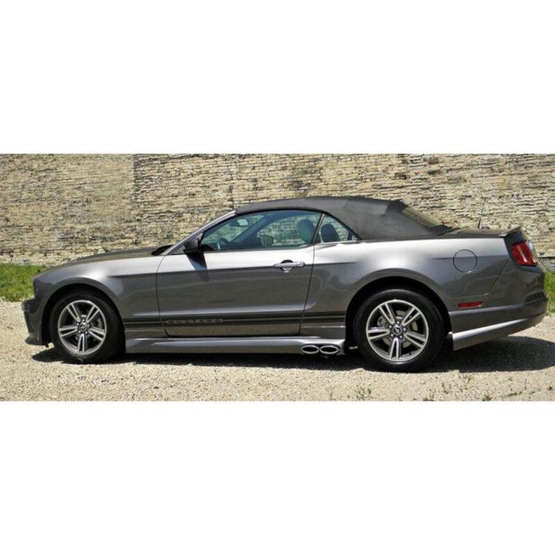 Focus St Performance Parts >> 2010 Mustang GT Cervini's Side Exit Exhaust Kit 8048