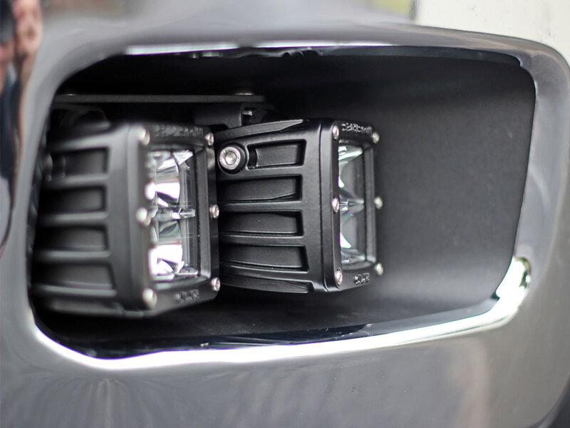 2011-2013 Chevrolet 2500/3500 Rigid D-Series Fog Light Mounting Kit