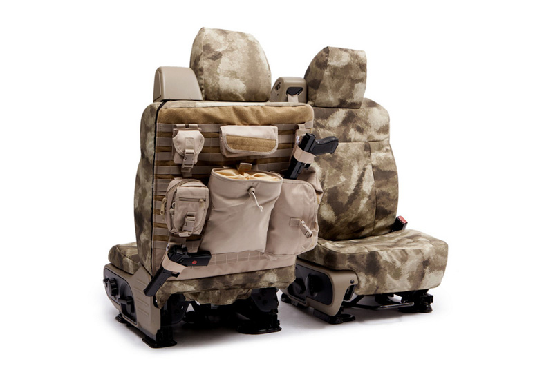 2004-2008 F150 CoverKing Ballistic A-TACS Arid/Urban Camo Front Seat Covers