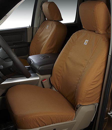 2016 F150 Seat Covers >> 2015 2019 F150 Carhartt Front Row Seat Covers Gravel Bucket Seats Adjustable Headrests Seat Airbags