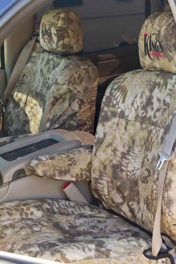 2016 Ford F150 Seat Covers >> 2015-2020 F150 CoverKing Ballistic Kryptek Highlander Front Seat Covers CTSCKT01