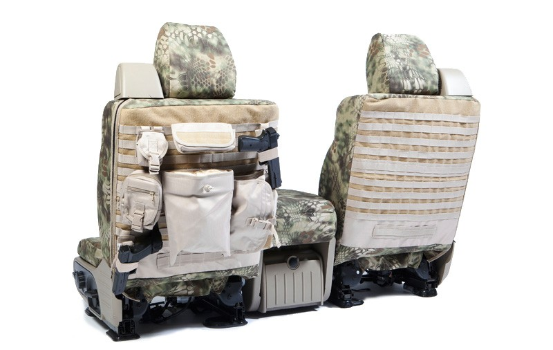 2011-2012 F150 CoverKing Ballistic Kryptek Highlander Camo Front Seat Covers