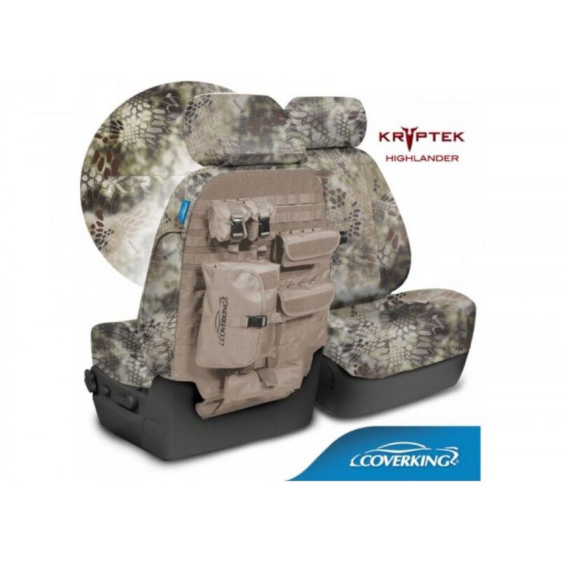 2015 2019 f150 coverking ballistic kryptek highlander front seat covers ctsckt01. Black Bedroom Furniture Sets. Home Design Ideas