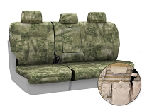 2011-2012 F150 CoverKing Ballistic A-TACS Foliage/Green Camo Rear Seat Covers
