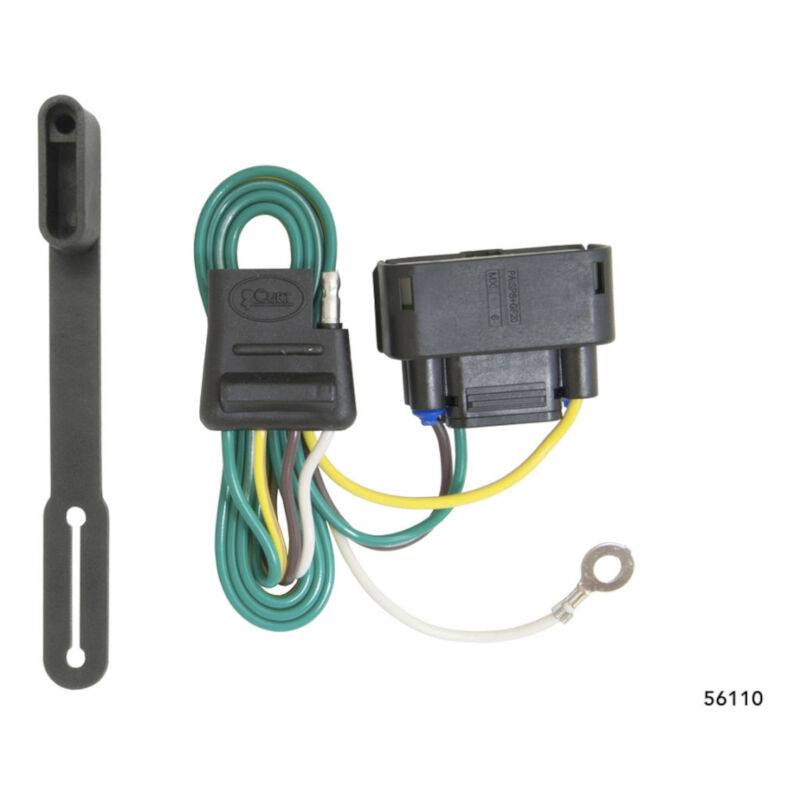 Coast Flashlight Headlight Wiring Harness Diagram 2010 2016 F150 Curt Rear Trailer T Connector W O Rh Stage3motorsports Com Hid
