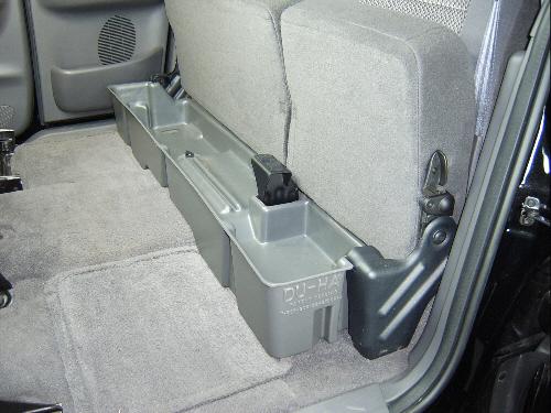 supercab du ha  seat storage unit