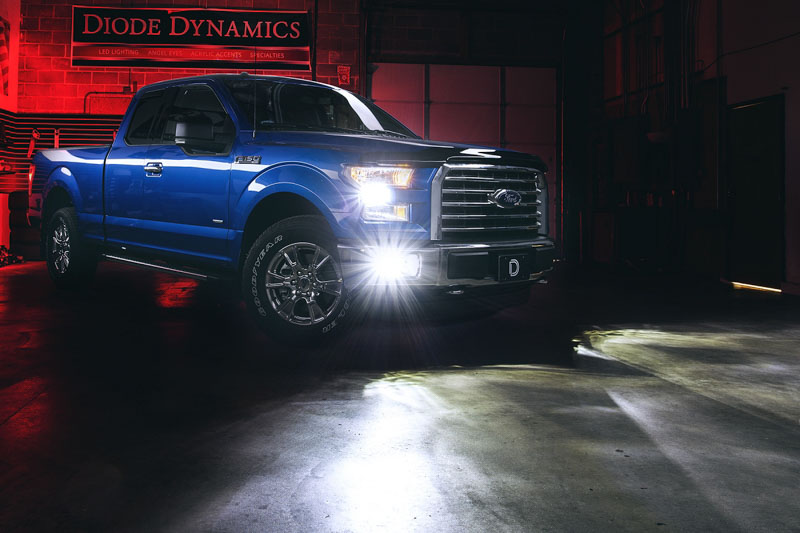 1999-2019 F150 Diode Dynamics LED Fog Lights FGLED-1034-H10
