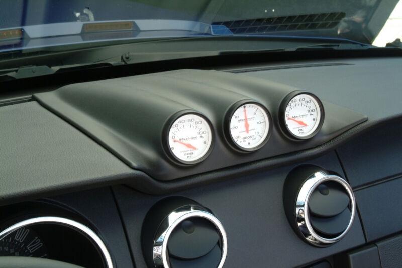 2005 2009 Mustang Cdc Triple Gauge Dash Pod 110140