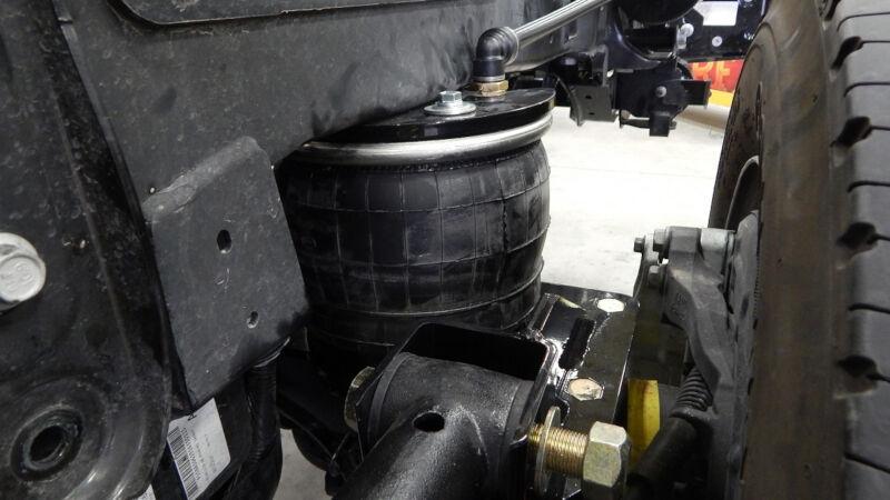 super duty kelderman  link rear air suspension klm