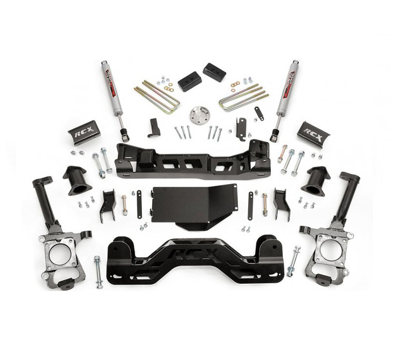 """Rough Country 5 Inch Suspension Lift Kit: 2014 F150 4WD Rough Country 4"""" Suspension Lift Kit 574.22"""