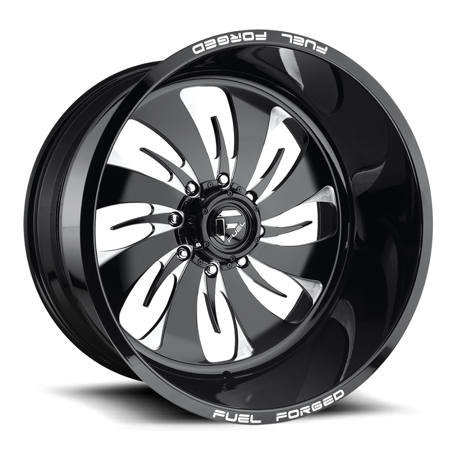 1999-2019 F250 & F350 Fuel Forged FF46 22X10 Wheel - Black & Milled