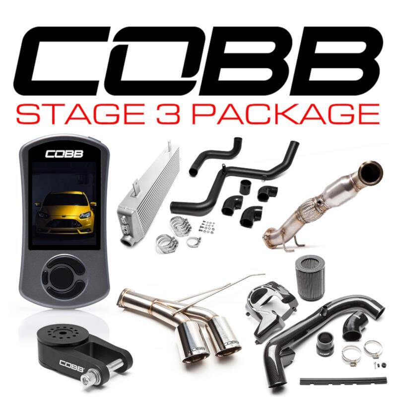 2013 2018 focus st cobb stage 3 carbon fiber power package for001fo3cf. Black Bedroom Furniture Sets. Home Design Ideas