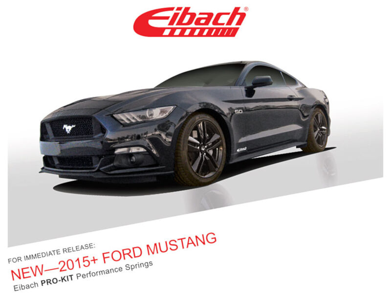 2015 2017 mustang 2 3l ecoboost eibach pro kit lowering. Black Bedroom Furniture Sets. Home Design Ideas