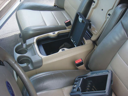 2004 2007 F250 F350 Console Vault Floor Console Cover Gun Safe