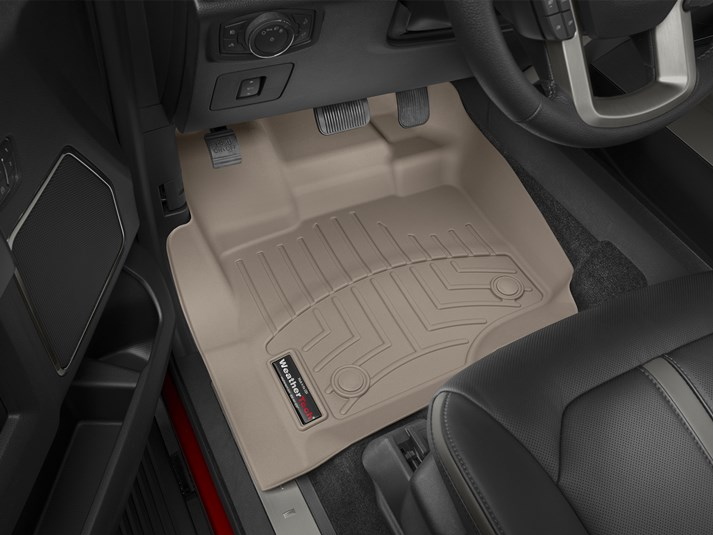 weathertech front floor liner digital fit tan