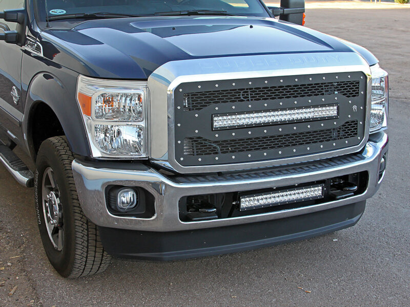 2011 2016 F250 F350 Rigid Industries Led Grille E Series 40566