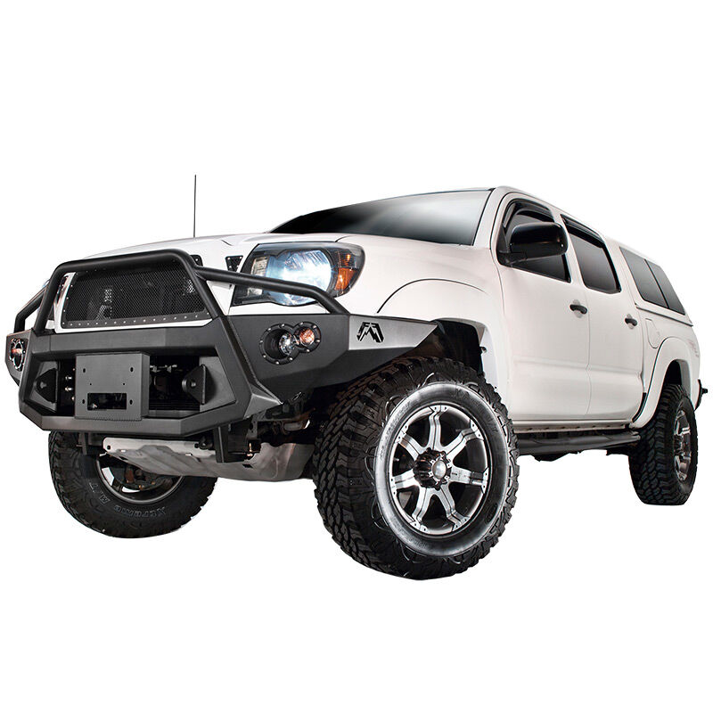 2005-2011 Tacoma Fab Fours Premium Pre-Runner Guard Front Bumper
