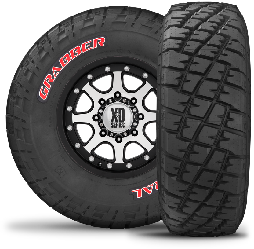 General At Tires >> 35 12 50 20 General Grabber Red Letter Tire 04500640000