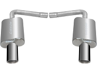 2012-2017 Explorer 3.5L & 2.0L EcoBoost Gibson Axle-Back Exhaust Kit (Aluminized)
