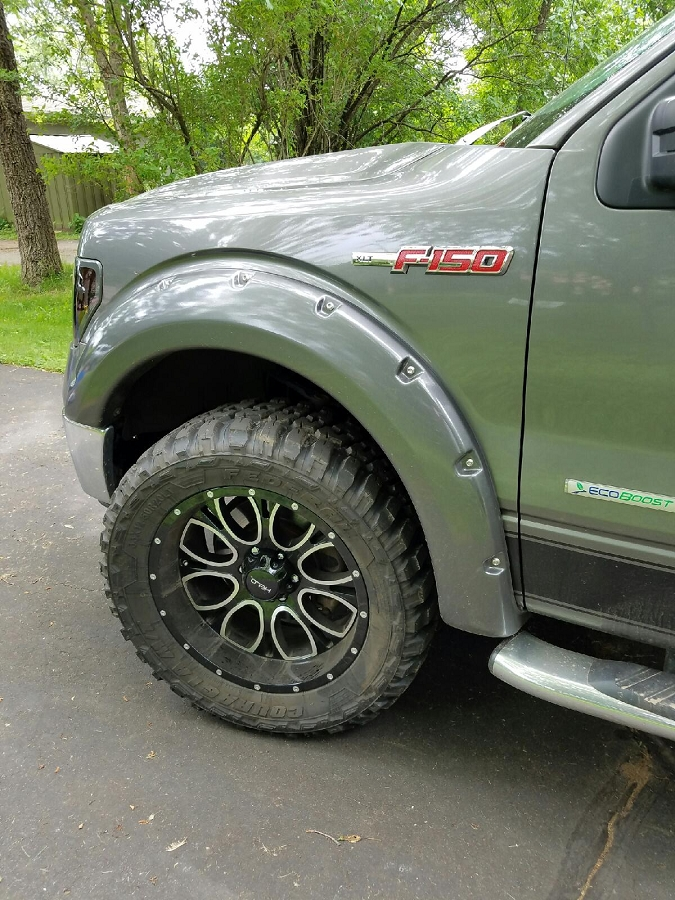 just added helo f150 amp super duty offroad wheels
