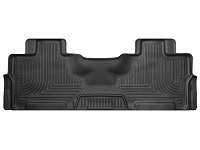 2012-2016 Ford Expedition Husky WeatherBeater 2nd Row Floor Mats (Black)