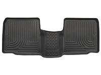 2015 Ford Explorer Husky WeatherBeater 2nd Row Floor Mats (Black)