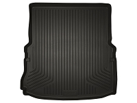 2011-2016 Ford Explorer Husky WeatherBeater Long Cargo Liner (Black)