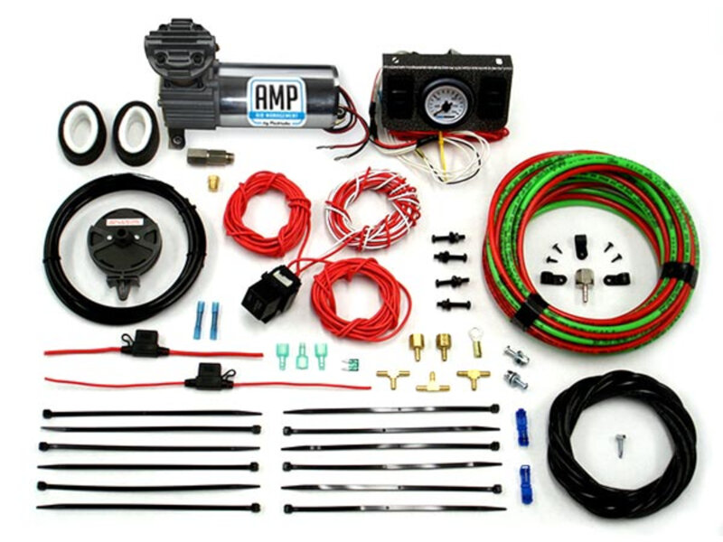 Air Management by PacBrake (AMP) In-Cab Control System for Air Spring Kits (Independent Activation)
