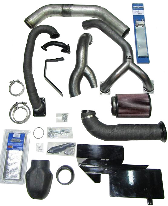 11-16 F250 & F350 6.7L Industrial Injection Compound Turbo Kit
