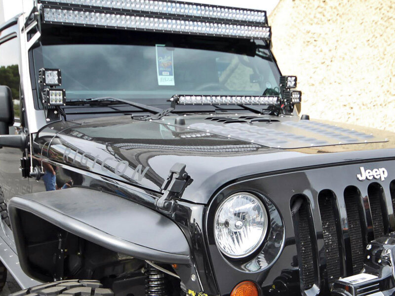 2007 2013 Jeep Jk Rigid Industries D Series Dual A Pillar