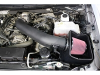 2010-2014 F150 & SVT Raptor 6.2L JLT Textured Black Cold Air Intake Kit (Requires Tuning)