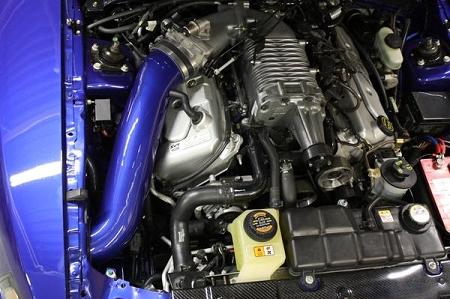2003 2004 Mustang Cobra Jlt Cold Air Intake Painted Cai2
