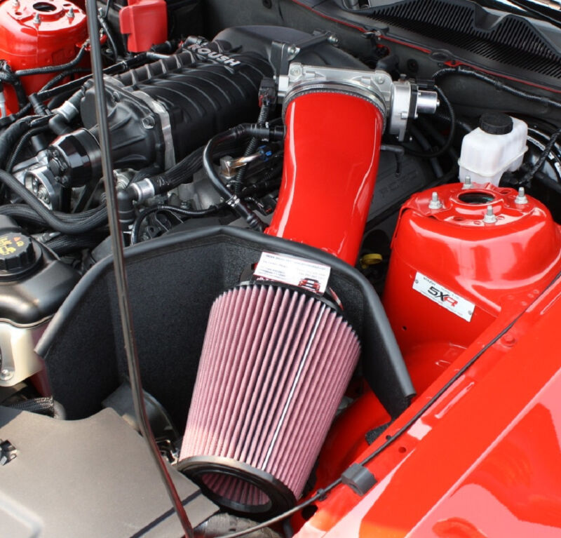 2011 2014 Mustang Gt Jlt 123mm Quot Big Air Quot Intake Painted