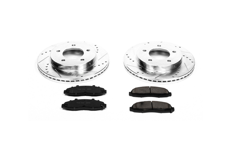 1997-2003 F150 4WD Power Stop Z36 Extreme Truck & Tow Front Brake Kit (5-Lug)