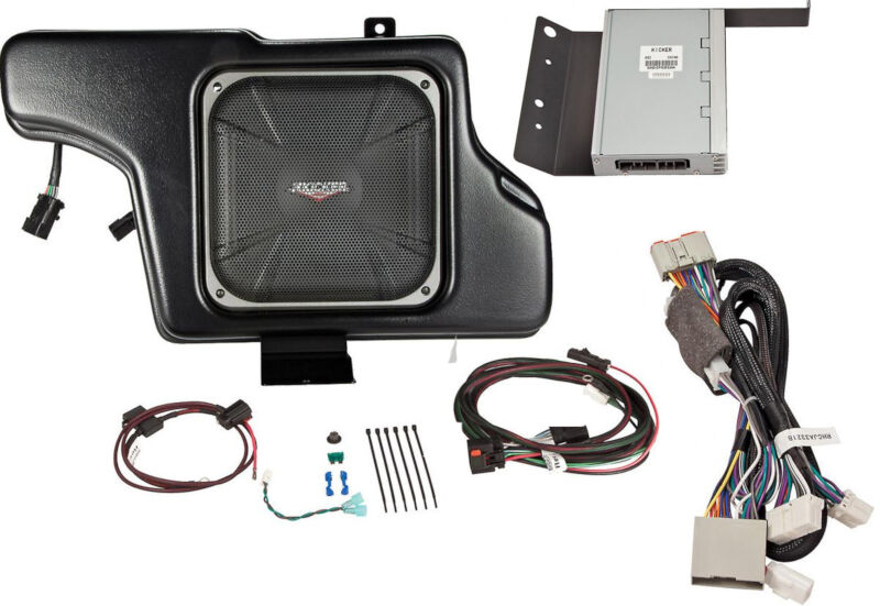 2005 2014 Mustang Kicker Vss Powerstage Powered Subwoofer Kit Coupe Wiring Kits For Subs Only