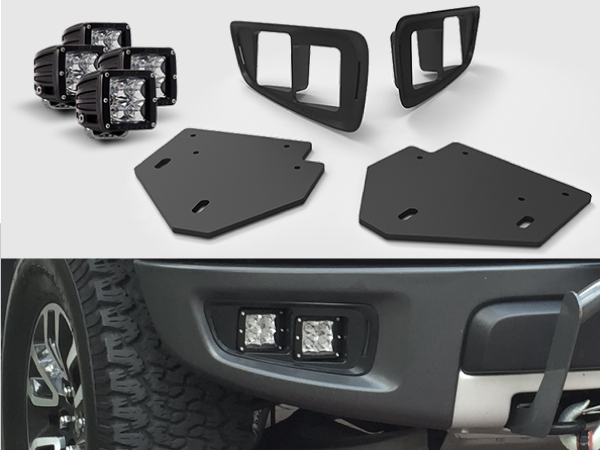 2010 2014 Svt Ford Raptor Off Road Fog Light Bezel Bracket