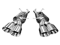 2013-2014 Shelby GT500 Kooks Quad-Tip Axle-Back Exhaust Kit (Polished Tips)